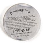 Fyrinnae Deinonychus Pressed Eyeshadow