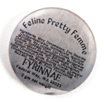 Fyrinnae Feline Pretty Femme Pressed Eyeshadow