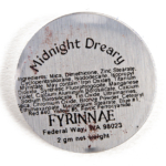Fyrinnae Midnight Dreary Pressed Eyeshadow