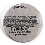 Fyrinnae Purride Pressed Eyeshadow