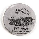 Fyrinnae Symphonic Exquisites Pressed Eyeshadow