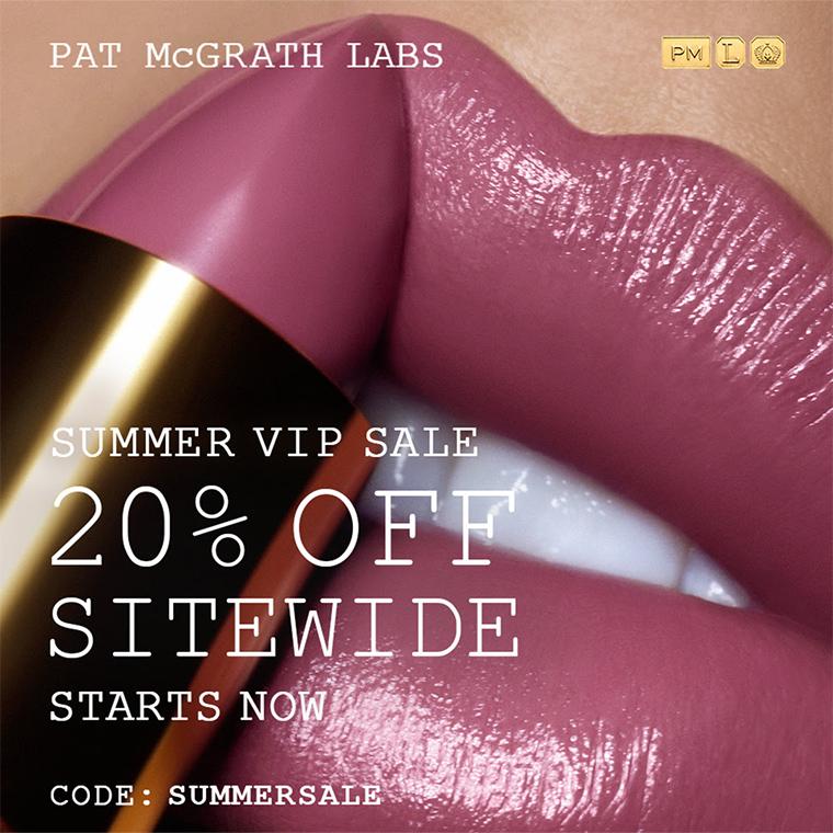 Pat McGrath 20% Off VIP Sale Now!