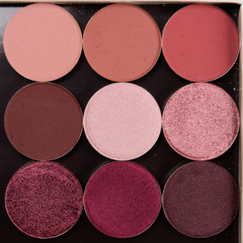 Sydney Grace Raspberry Kiss Eyeshadow Bundle Swatches