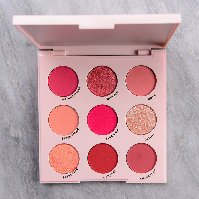 ColourPop Strawberry Shake 9-Pan Pressed Powder Palette