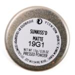 Colour Pop Sunkiss'd Pressed Powder Pigment