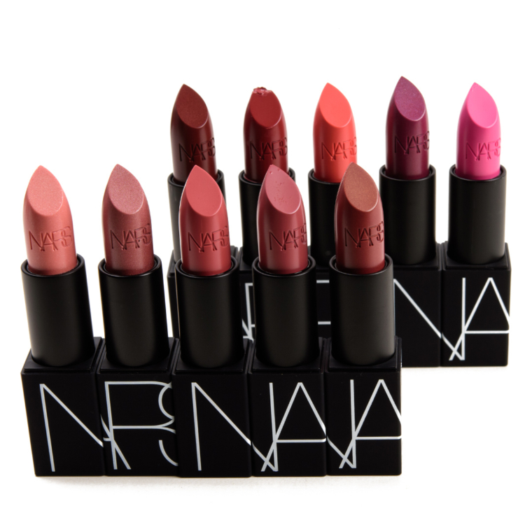 NARS Sheer Lipsticks Swatches (x20)