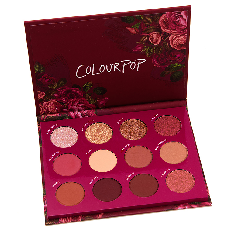 ColourPop Exes and Oh\'s 12-Pan Pressed Powder Shadow Palette