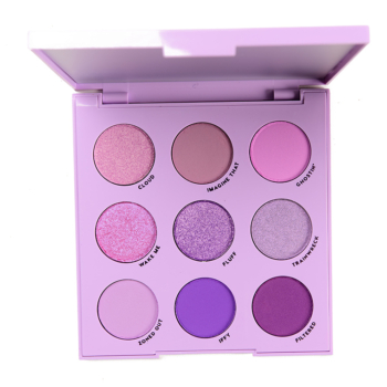 ColourPop Lilac You a Lot Palette Swatches