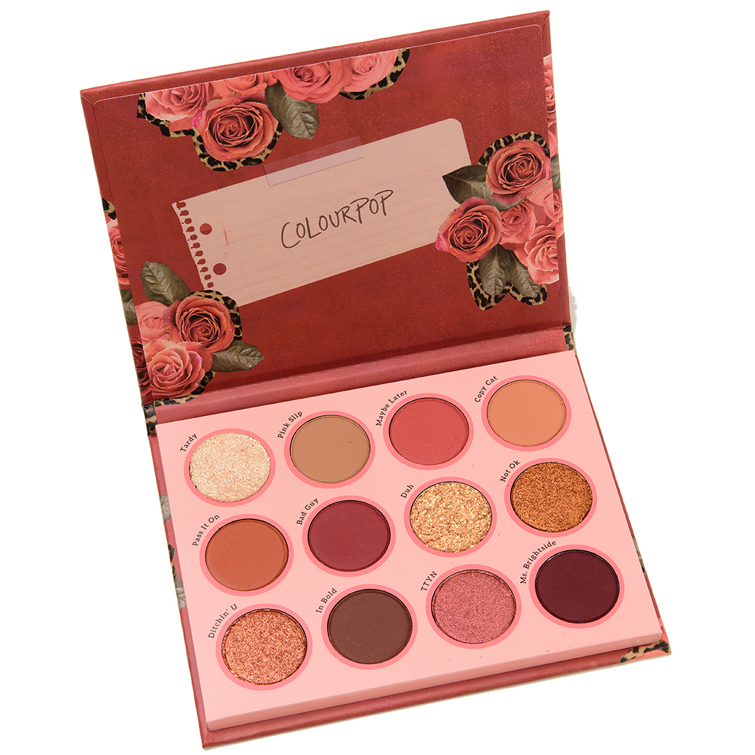 ColourPop Whatever Eyeshadow Palette Review & Swatches