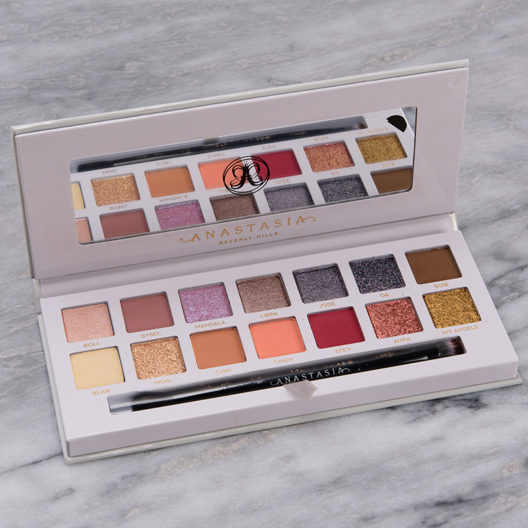 Anastasia Carli Bybel Eyeshadow Palette Swatches