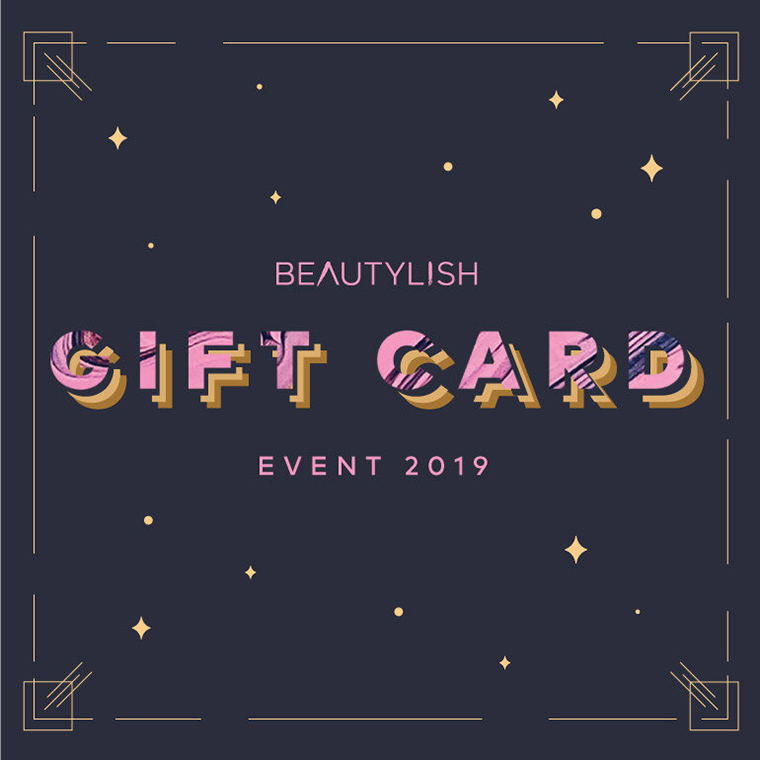 Beautylish's Annual Gift Card Event