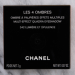 Chanel Lumiere et Opulence (342) Les 4 Ombres Multi-Effect Quadra Eyeshadow