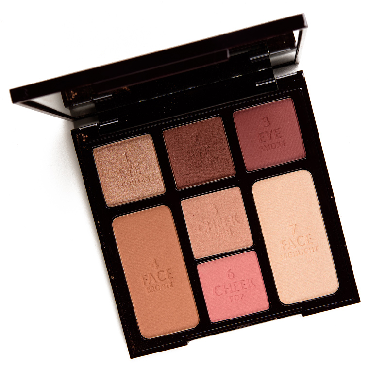 Charlotte Tilbury Gorgeous Glowing Beauty Instant Look In A Palette Review Swatches