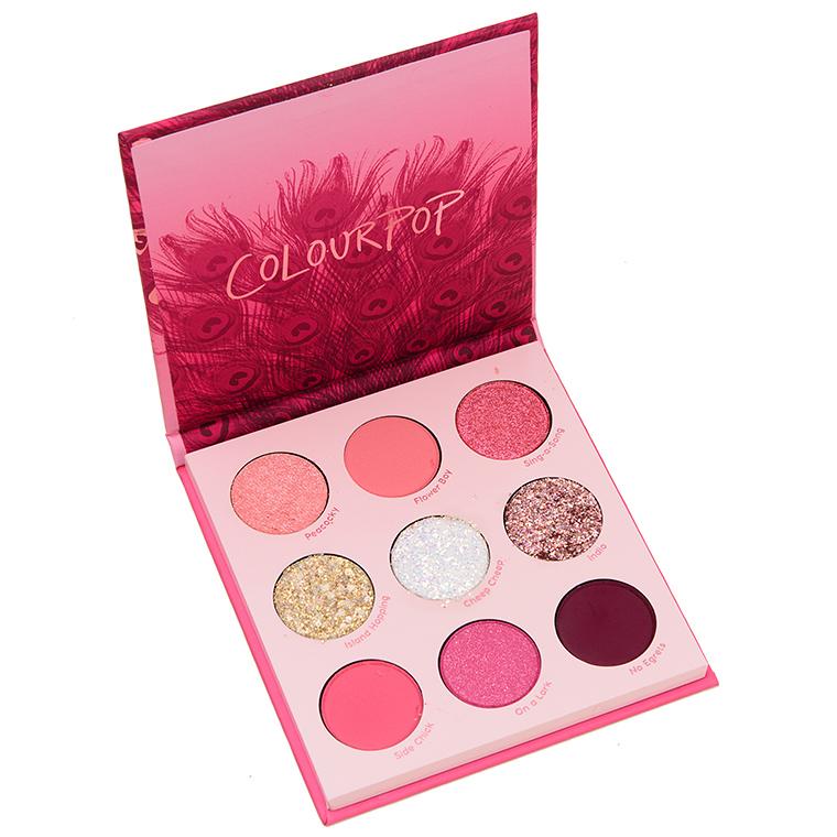 Colour Pop Love Bird 9-Pan Pressed Powder Palette