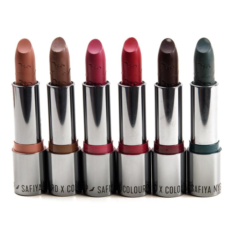ColourPop x Safiya Nygaard Lipstick Swatches
