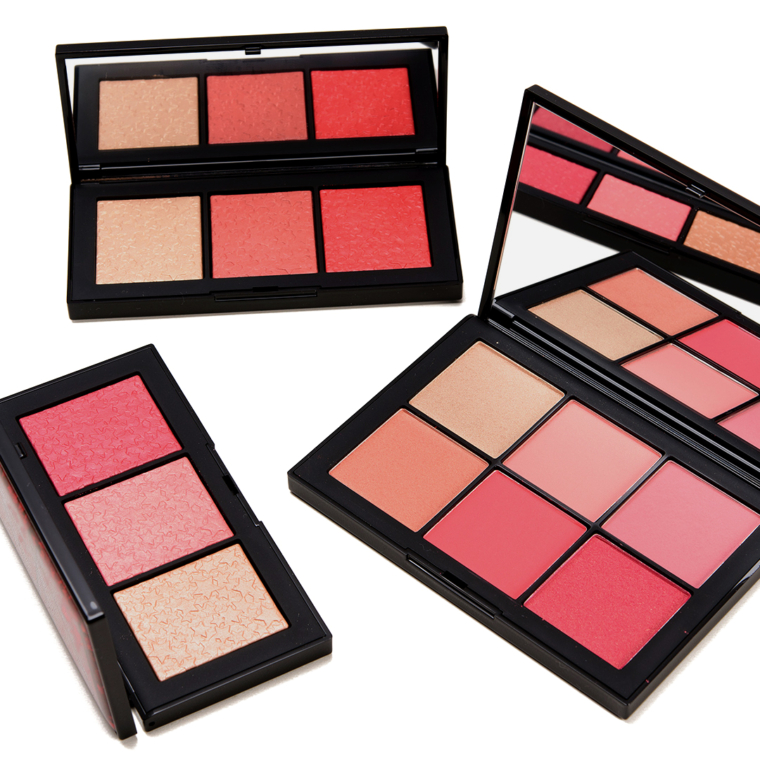 NARS Holiday 2019 Swatches - Cheek Palettes