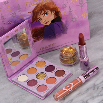 ColourPop x Disney Frozen II: Anna Collection - Swatches