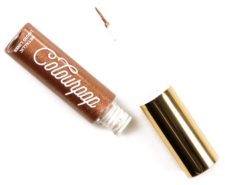 ColourPop Bronze Touch Metallic Liquid Liner