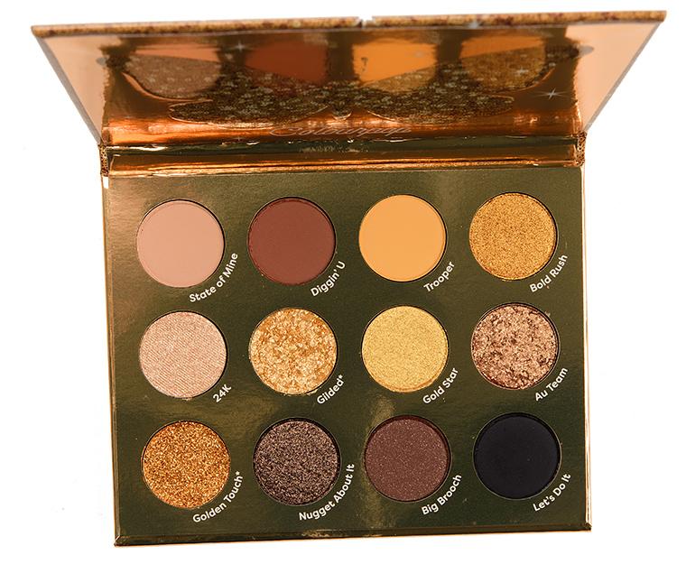 Colour Pop Good as Gold 12-Pan Pressed Powder Shadow Palette