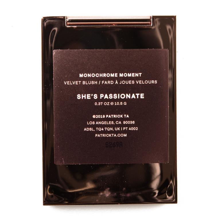 Patrick Ta She\'s Passionate Monochrome Moment Velvet Blush