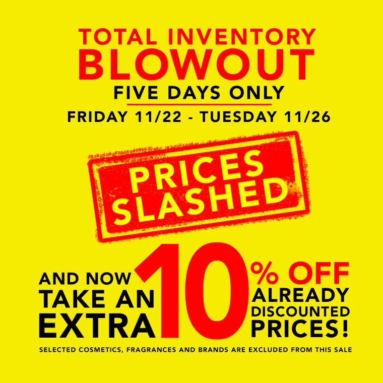 Barneys: Extra 10% Off Sale