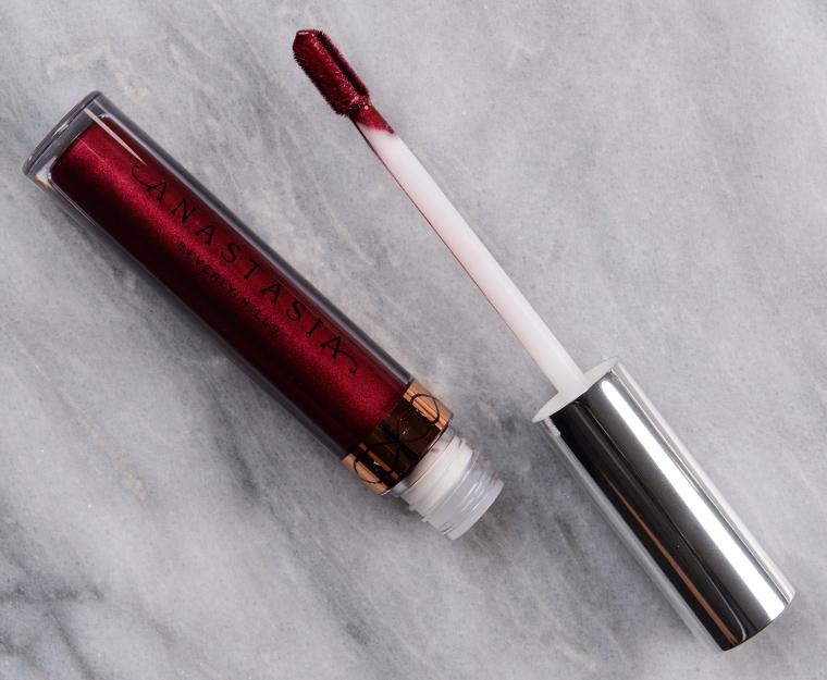 Anastasia Chrome Burgundy Liquid Lipstick