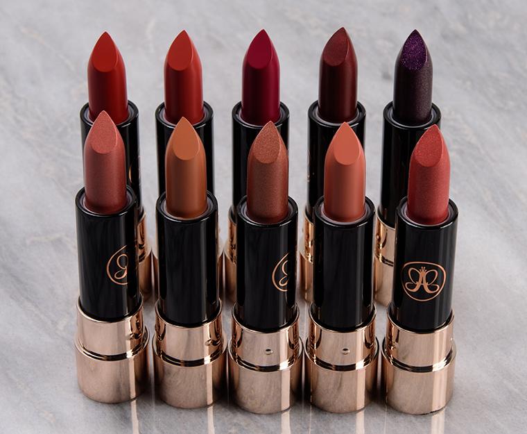 Anastasia Holiday 2019 Mini Lipstick Holiday Vault
