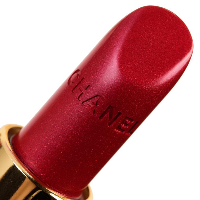 Chanel Camelia Rouge Metal (607) Rouge Allure Luminous Intense Lip Colour