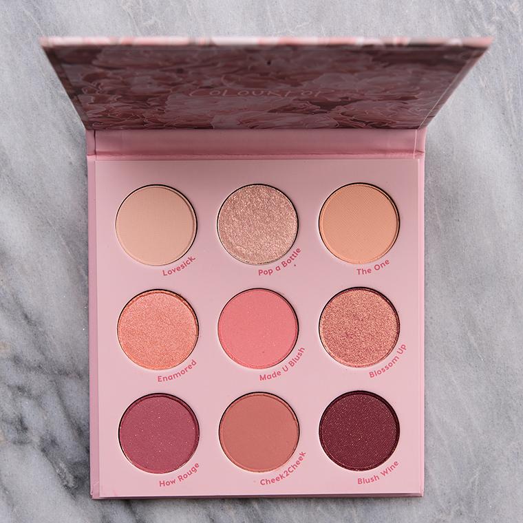 Colour Pop Blush Crush 9-Pan Pressed Powder Palette
