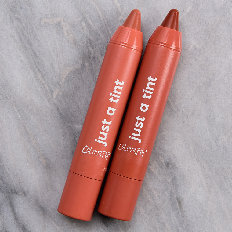 ColourPop Can't Bare It Just a Tint Lippie Tint Duo Review & Swatches