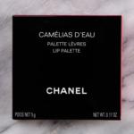 Chanel Camelias d\'Eau Lip Palette