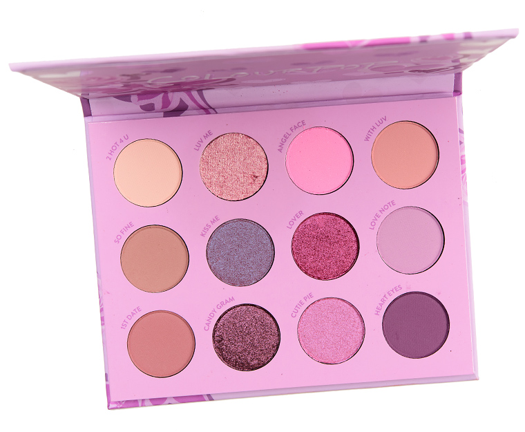 ColourPop UR A QT 12-Pan Pressed Powder Shadow Palette