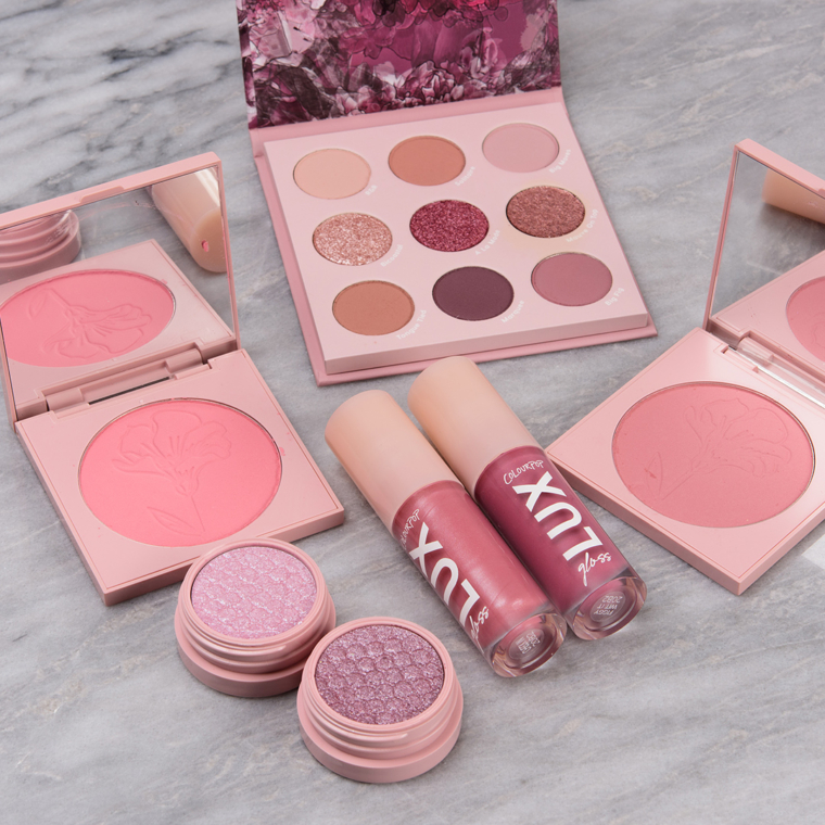 ColourPop Making Mauves Collection Swatches