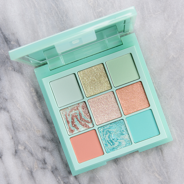 Huda Beauty Mint Pastel Obsessions Palette Review & Swatches
