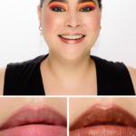 UOMA Beauty Lady of Gold Black Magic Metallic Lipstick