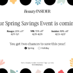 Sephora Spring Savings Event for April 2020: Dates & Codes!