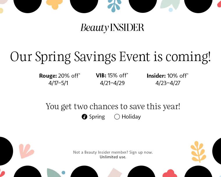 Sephora Spring Savings Event for April 2020: Dates & Codes!