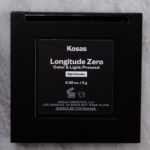 Kosas Longitude Zero (High Intensity) Color and Light Pressed Palette