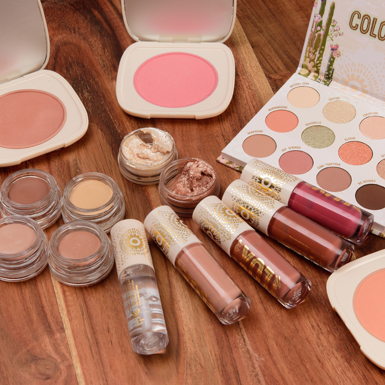 ColourPop Wild Nothing Collection Swatches