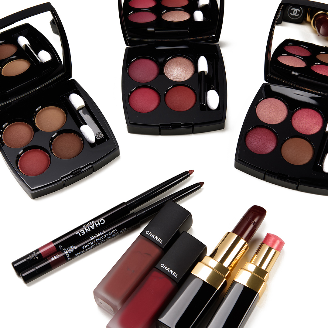 Chanel Christmas 2020 Makeup Collection Chanel Fall/Winter 2020 Collection Swatches