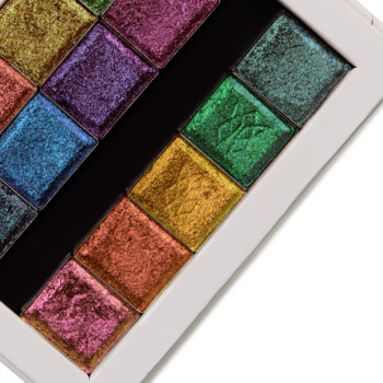 Clionadh Deep Iridescent & Pastel Multichrome Eyeshadow Swatches (x9)