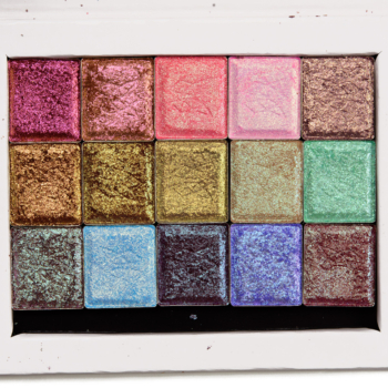 Clionadh Glitter Multichrome Eyeshadow Swatches (x23)
