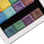 Clionadh Deep Iridescent & Pastel Multichrome Eyeshadow Swatches (x9)