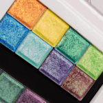 Clionadh Hybrid & Vibrant Multichrome Eyeshadow Swatches (x16)