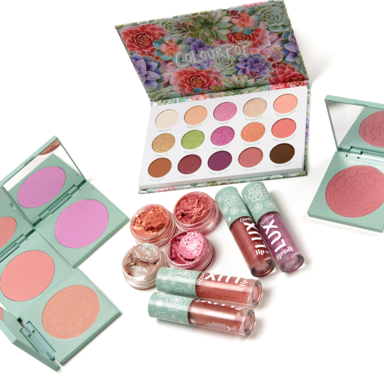 ColourPop Garden Variety Collection Swatches