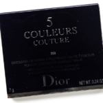 Dior New Look (599) 5 Couleurs Couture Eyeshadow Palette