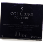 Dior Poncho (559) 5 Couleurs Couture Eyeshadow Palette