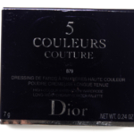 Dior Rouge Trafalgar (879) 5 Couleurs Couture Eyeshadow Palette