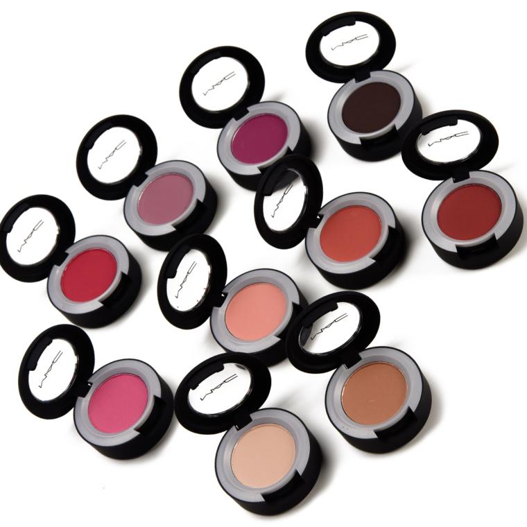 MAC Powder Kiss Liquid Lipcolours + Soft Matte Eyeshadows | Swatches
