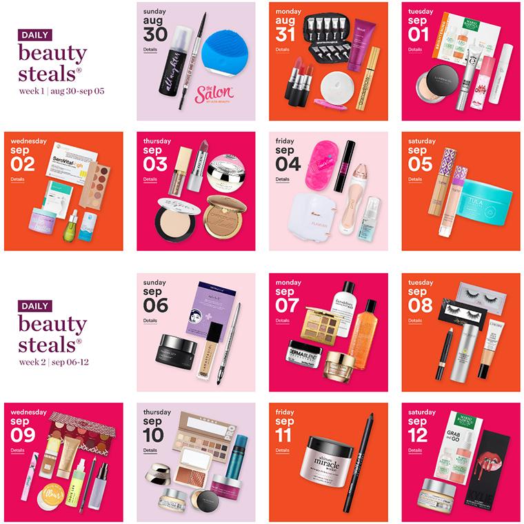 ULTA | 21 Days of Beauty Dates + Daily Deals (August 2020)